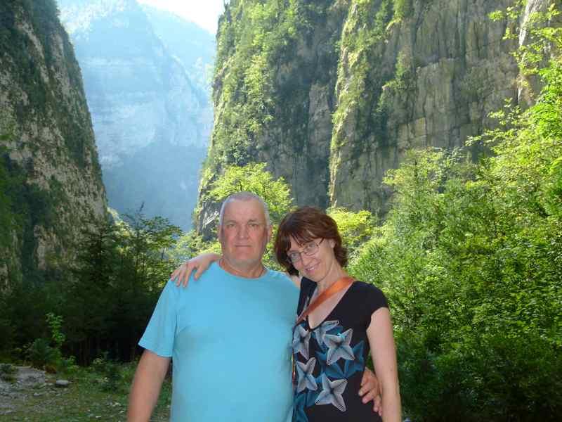 Отдых в Абхазии Въезд в Юпшарский каньон