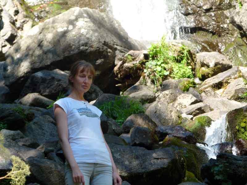 Одых в Абхазии Молочный водопад