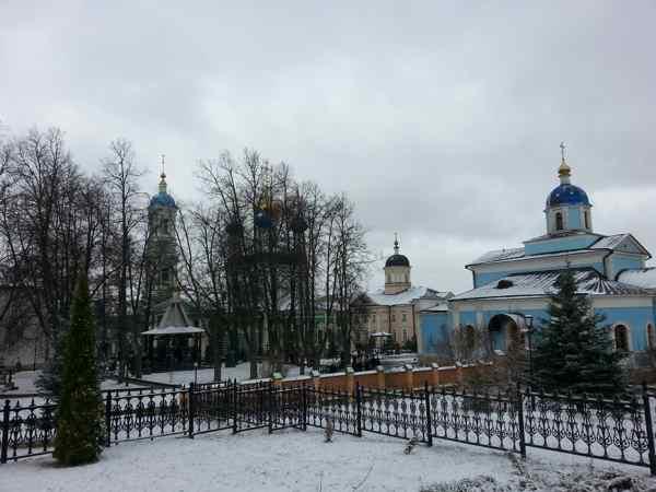 Монастырь Клыково Калужская область