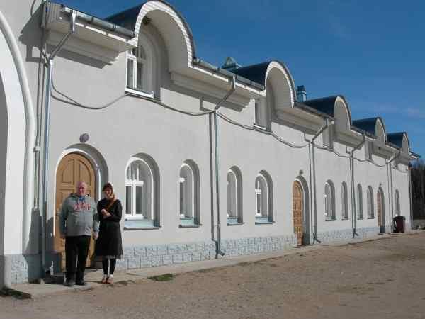 Монастыри Псковской области