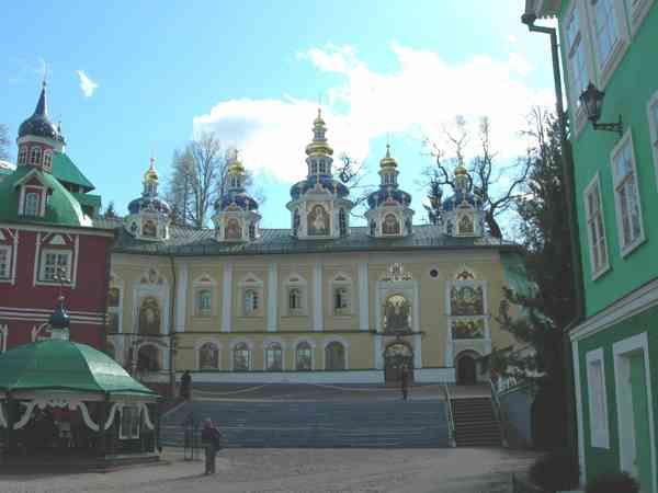 Святыни Псковской земли Псково-Печерский монастырь