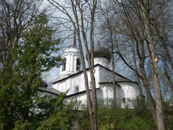 Пушкинские горы Святогорский монастырь