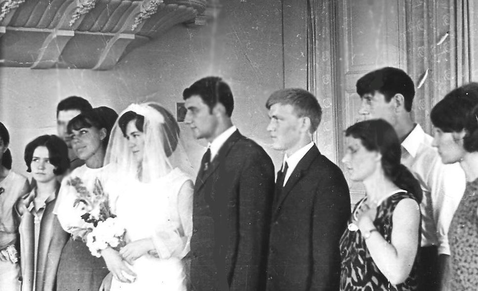 Студенческие годы ОСХИ, свадьба Денисенко Геннадия