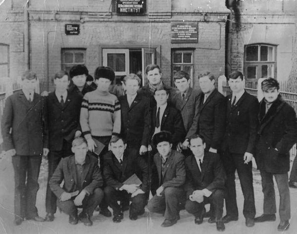 3 группа мехфак ОСХИ 1966-1971
