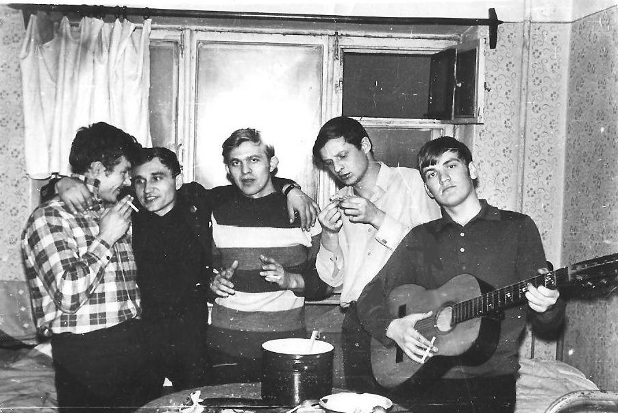 Студенческие годы ОСХИ 1966-1971 мехфак общежитие