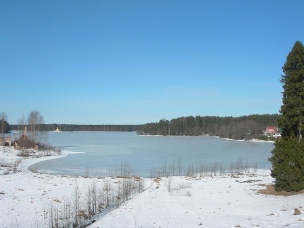 Свирский монастырь рощинское озеро