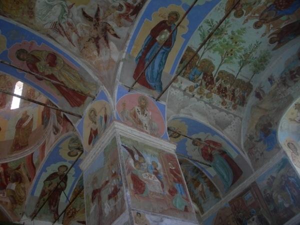Троицкий собор Свирского монастыря роспись
