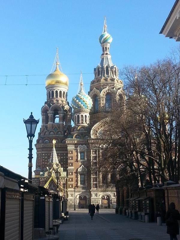 Святыни Санкт-Петербурга храм Спаса на крови