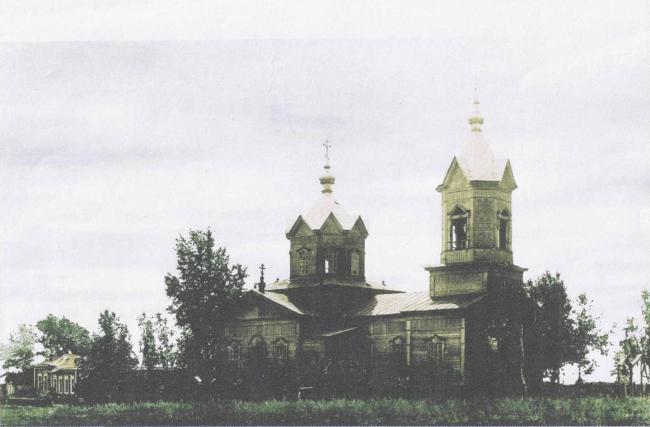 Памятный крест в Троицком