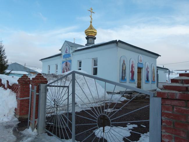 Храм Святителя Николая Чудотворца Тюльган