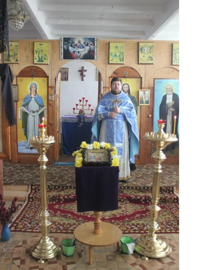 Проповедь в храме Тюльгана