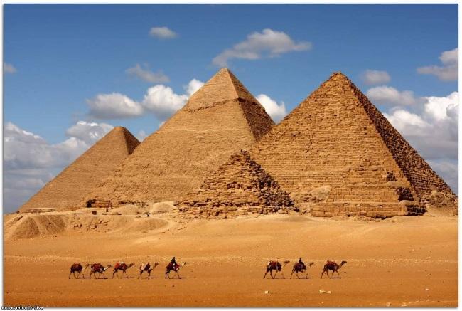 Тайны пирамид Гиза Египет