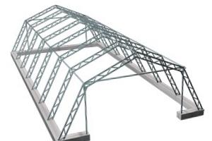 Строительство металлических ангаров шатровых