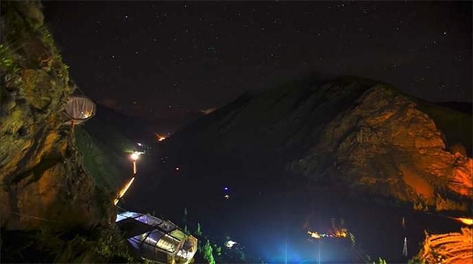 Мини-отель на скале