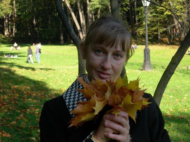 Яковлева Ирина и осень