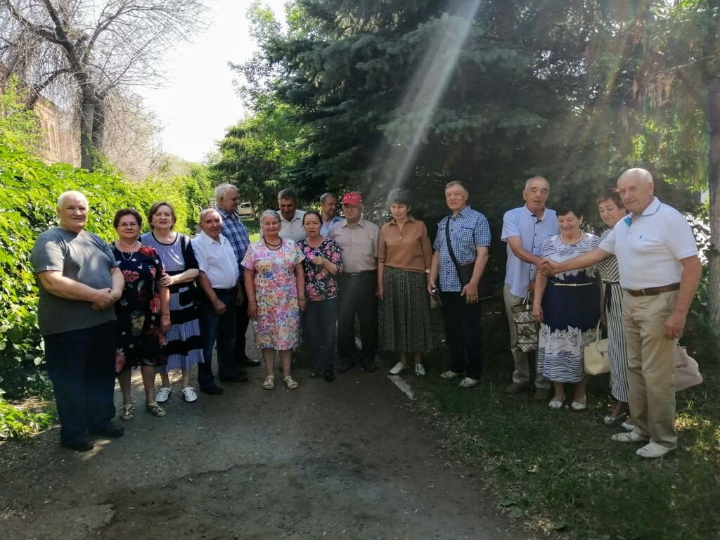 Встреча выпускников 3 группы мехфака