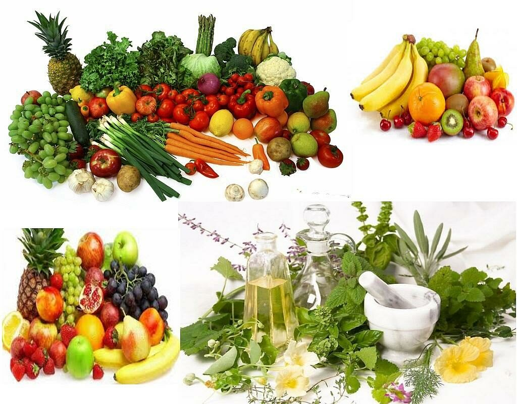 Очищение организма от шлаков фруктами, овощами, травами