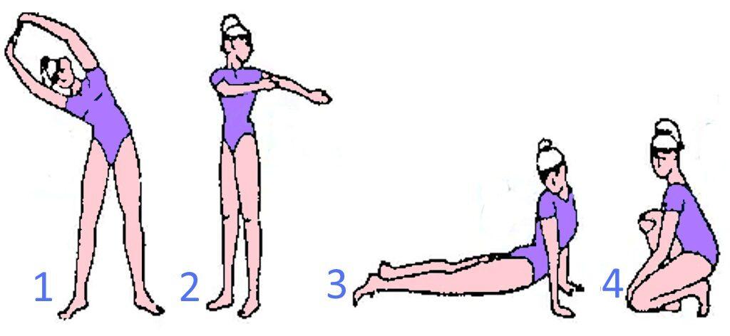 Очищение кишечника соленой водой комплекс физических упражнений