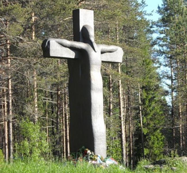 Поклонение Кресту скроби в Карелии