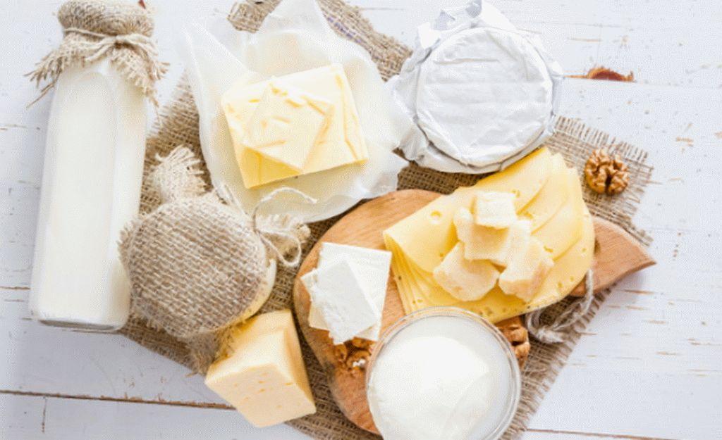 Молочные продукты от высокого давления