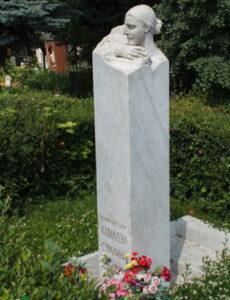 Новодевичье кладбище надгробье Аллилуевой Надежды