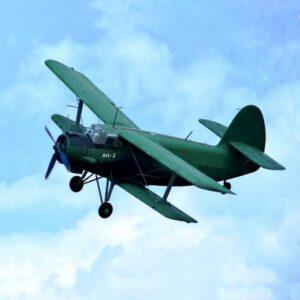 Самолет Ан-2 в воздухе